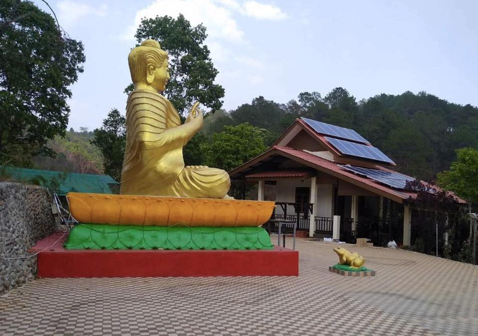 """Project """"Bring the light to the community and the Dharma"""""""